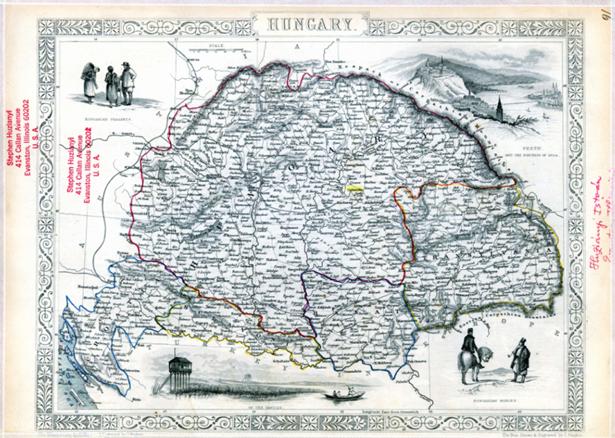 Magyarország térképe